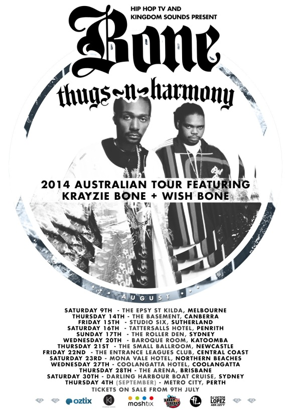 Bone Thugs N Harmony Tour