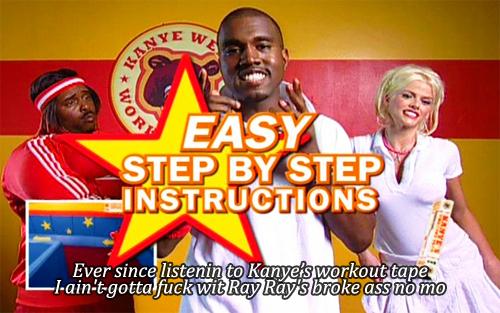 Kanyes Workout Plan